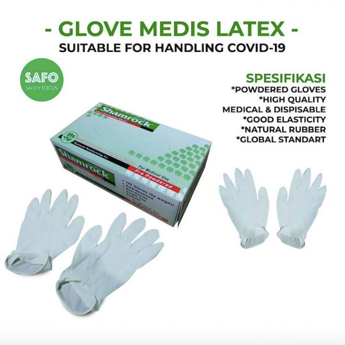 Glove Latex Medis